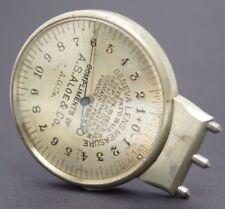 Antique Geneva Lens Clock Measure A.S.Aloe & Co A.O.Co Eye Optical Optometrist