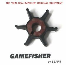New OEM Sears Gamefisher 7.5 -15 hp Outboard Motor Water Pump Impeller 1987-1991