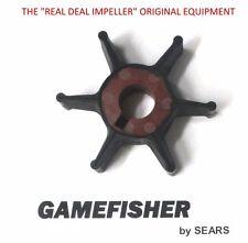 New OEM Sears Gamefisher 7.5 -15 hp Outboard Motor Water Pump Impeller 1987-1991