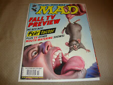 MAD Magazine #446 (Oct 2004) Spider-Man 2, Fear Factor, Spy vs Spy FN Condition