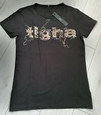 Tigha Herren  T-Shirt Scribble Logo MSN Black/ White Größe S