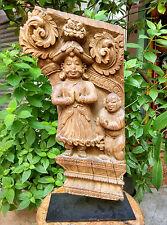 Ancien élément architectural réincarnation de Vishnou en nain Rajasthan 18e