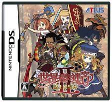 Used Nintendo DS Sekaiju no Meikyuu 2 Etrian Odyssey II Import Japan
