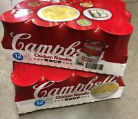 24 Campbell's Condensed Chicken Noodle Soup 10.75 oz Cans FREE SHIP
