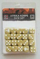 Battlefront Games Flames of War Afrika Korps Dice Set German NIB