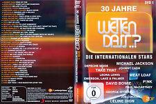 Wetten, dass..? / Die Internationalen Stars 1983-2010 / DVD von 2011 / Neuwertig
