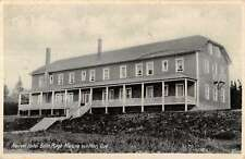 Matane Sur Mer Quebec Canada Nouvel Hotel Belle Plage Antique Postcard K17080