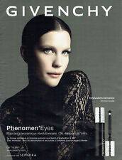 Publicité Advertising 107   2011  Givenchy maquillage  Pheneome'eyes  Liv Tyler