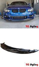 AK style Carbon Fiber Front Bumper Lip For BMW E92 E93 LCI M Sport