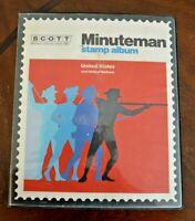 CatalinaStamps: Minuteman US Stamp Album, Scott 1980 w/700 Stamps, D27