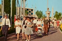 Vintage Postcard Disneyland Tomorrowland Entrance Flags c1950s