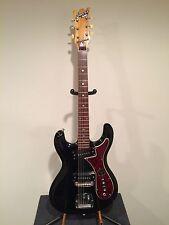 Univox Custom Hi Flier Phase 1- Late 60's Black Tortoise Shell Guitar W/Case
