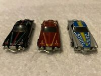 Mattel Hot Wheels 1979 Stutz Blackhawk Car Lot of 3 - Black, Silver, Brown