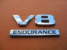 04-13 NISSAN TITAN ENDURANCE V8 FENDER EMBLEM SILVER P# 80894 7S200