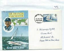 wbc. - GB - FIRST DAY COVER - FDC - 483 - SPECIALS - 1967 - FRANCIS CHICHESTER