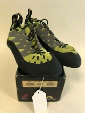 La Sportiva Mens Tarantulace Size 46.5 Lime Climbing Caving Bouldering Shoes