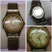 Amico 17 RUBIS duroswing Reloj De Los Hombres pulsera cuerda manual vintage