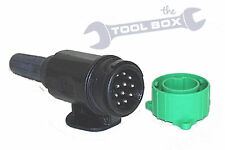 13 Pin Euro Plug for Caravans Trailers with Assembly Tool - Parking Socket