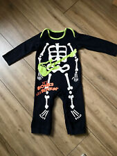 Halloween Baby Dress Up All In One Skeleton Outfit 12-18 Months