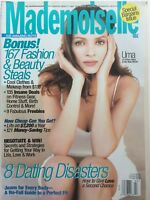 UMA THURMAN July 1998 MADEMOISELLE Magazine