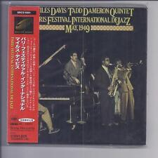 Miles Davis Tad Dameron Quintet PARIS Festival 1949 Japon MINI LP CD SRCS 9301
