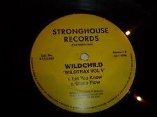 "WILDCHILD - Wildtrax vol V - 1995 UK 4-track 12"" vinyl single"