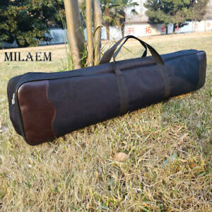 """32"""" Archery Recurve Bow Bag Takedown Carry Case Hand Shoulder Target Bow hunting"""