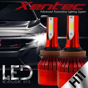 H11 6000K 2016 160W 16000LM Dual-Side LED Headlight Kit Low Beam Bulb High Power