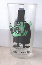 Vintage Pepsi Snidely Whiplash Glass P A T Ward Collectors Series 1970s 5 1/2""