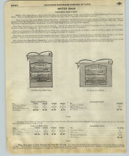 1918 PAPER AD Sahara Sanitary Water Bag Shapleigh Wooden Indian Clubs Dumb Bells