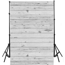 3*5ft White Wood Wall Photography Background Photo Backdrop EAMFA MCFA1