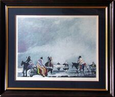 """Earl Biss """"Reflections On Still Waters"""" Serigraph on Paper framed Hand Signed"""