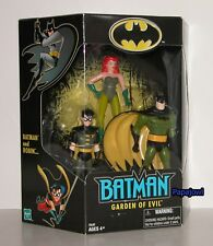 Hasbro 2002 Garden Of Evil Batman And Robin Vs. Poison Ivy 3 Piece Figure Set