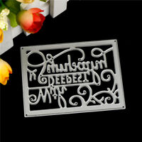 With Deepest Sympathy Metal Cutting Die For DIY Scrapbooking Album Paper Card Dz
