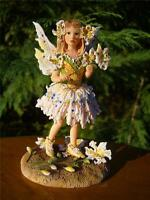 1ST EDITION CHRISTINE HAWORTH FAERIE POPPETS AMONG GOLDEN LILLIES FAIRY BNIB