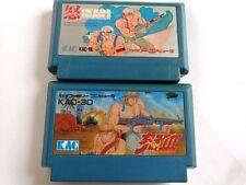 IKARI WARRIORS part 1 and 3 set For Nintendo Famicom NES/  Cartridge only -A-