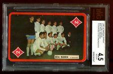 *RARE* 1961 Miroir Sprint Playing Card Real Madrid Puskas, Di Stefano BVG 4.5