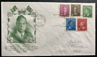 1949 Ottawa Ont Canada First Day cover FDC The Kings Birthday New Stamp Series