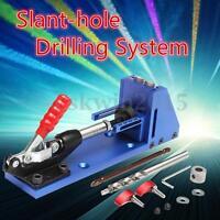 Pocket Hole Jig System Pocket Hole Wood Joinery Kit Woodwork Carpentry Tool