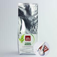 CLORURO di MAGNESIO (E511 uso alimentare) NO OGM Busta 1KG + misurini