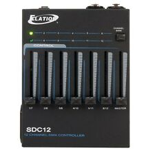 Elation SDC12 12 Channel DMX Stage Lighting Controller