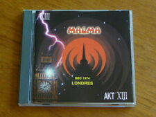 "Magma: ""Londres Live BBC 1974"" France CD Seventh AKT-XIII [vander QH"