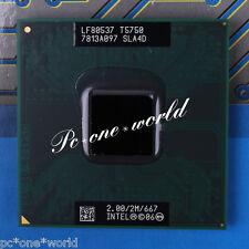 100% OK SLA4D Intel Core 2 Duo T5750 2 GHz Dual-Core Laptop Processor CPU