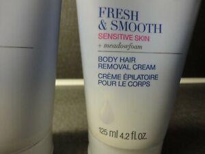 1 AVON SSS Fresh Smooth Body HAIR REMOVER Crm Sensitive Skin mfg.sealed no shave