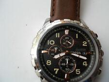 Fossil men's chronograph,quartz,battery & water resistant Analog watch.Fs-4828