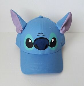 Disney - Lilo & Stitch -  Blue Adult Stitch Ears Baseball Hat/Cap