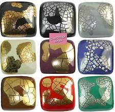 Ceramic, Clay Porcelain Cube/ Square/ Rectangular Any Purpose Craft Beads