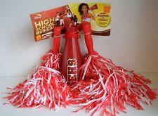 High School MUSICAL Cheerleader Pom Poms Megaphone HSM Shakers Costume NEW