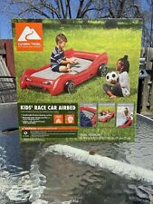 "Race Car Airbed Kids Ozark Trail 4'5"" Length Red Color Brand New in Box."