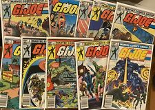 G.I. JOE ~ Lot Of 10 Issues Between # 3-17 Newsstand FREE SHIPPING! 🔥 🔑 Marvel